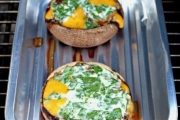 portobello met spinazie en kaas (1)