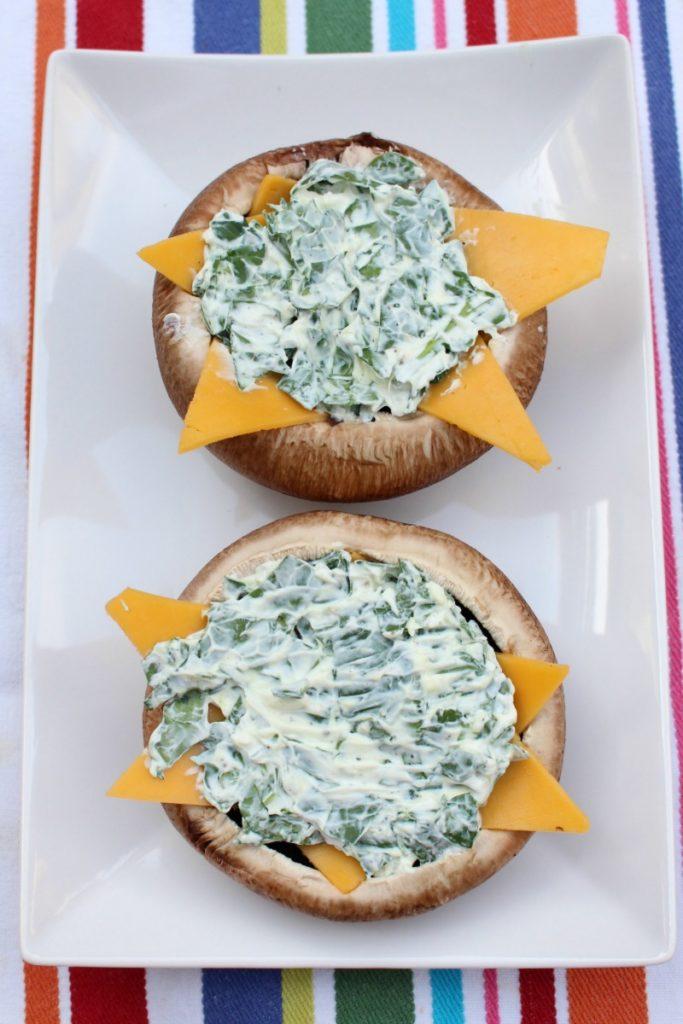 portobello met spinazie en kaas (2)