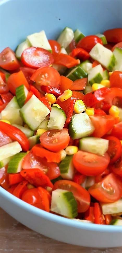 rauwkostsalade met mais