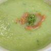Courgettesoep met zalm en pesto (1)