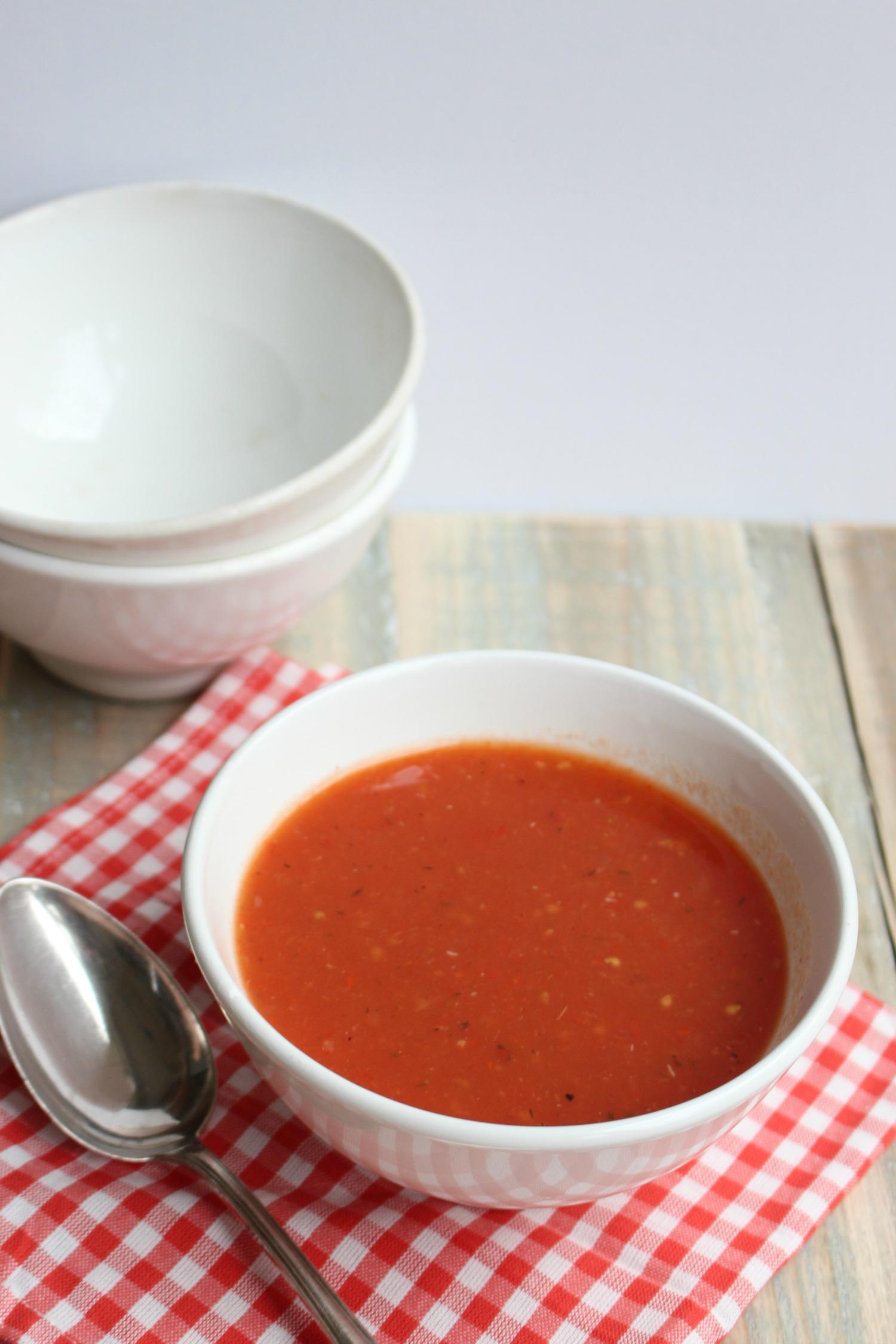 Geroosterde tomaten – paprikasoep