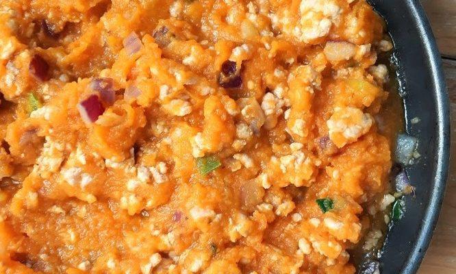 Mexicaanse saus met pompoen en wortel (nachtschadevrij)