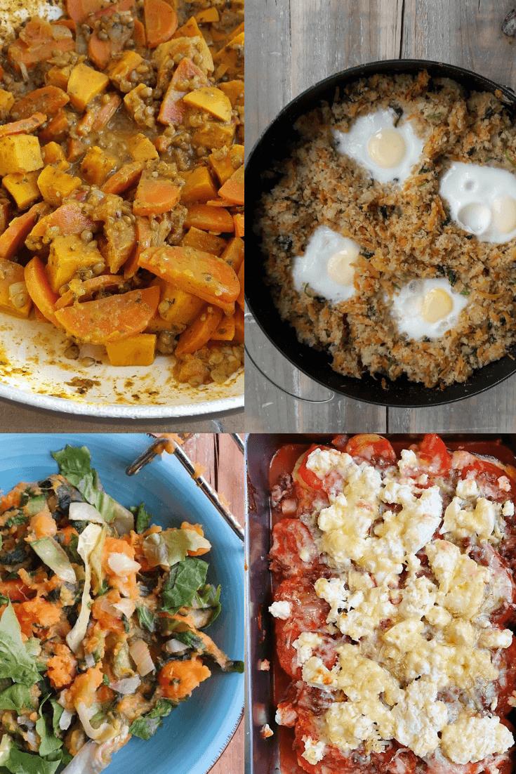 7 herfstige gerechten met zoete aardappel